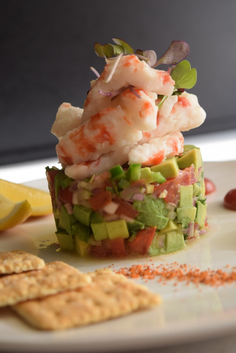 Vegan Shrimp Avocado Cocktail