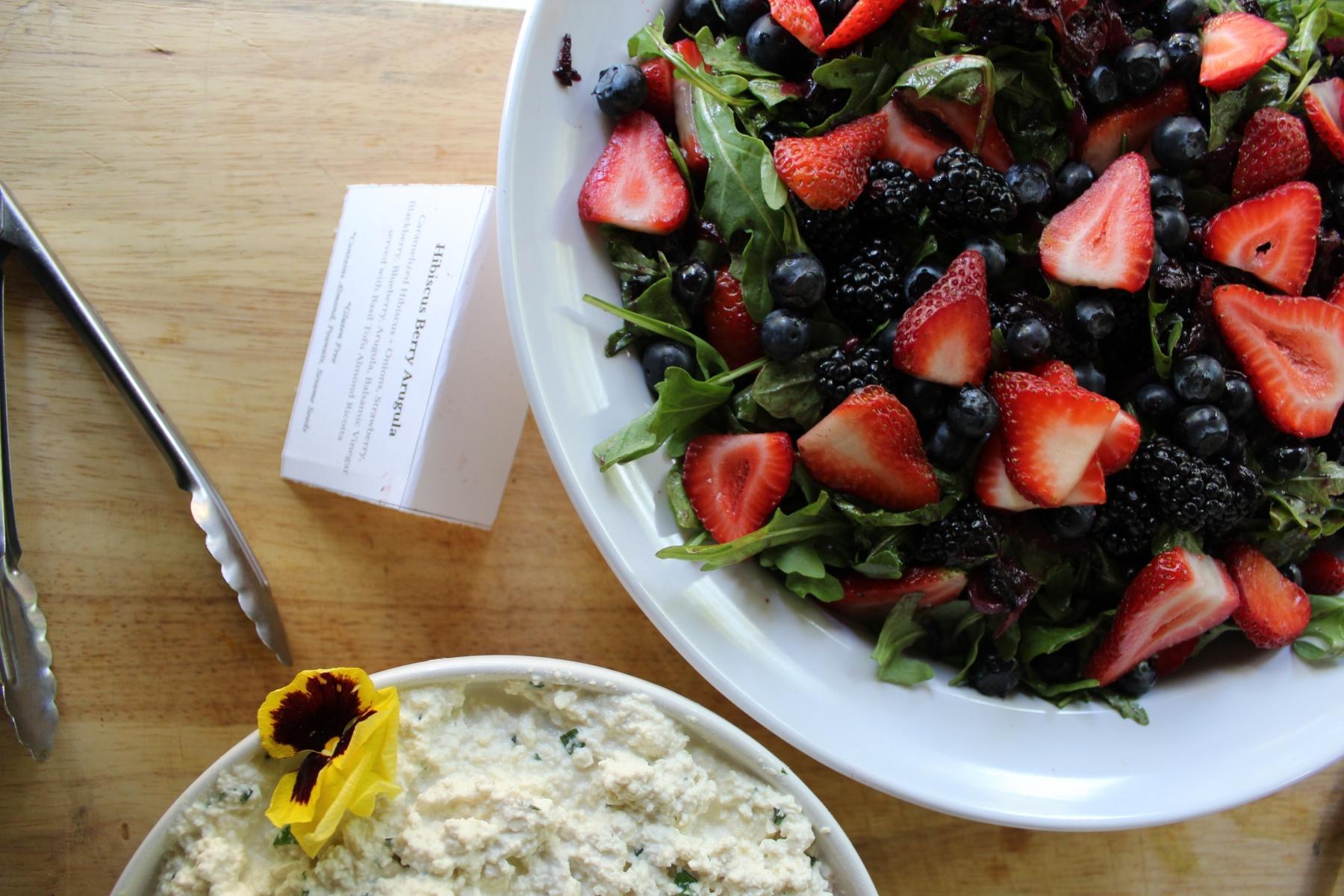 Hibiscus Berry Salad